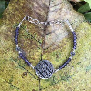 Bracelet-fleur-de-vie-améthyste