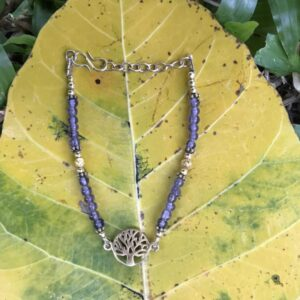 Bracelet arbre de vie améthyste