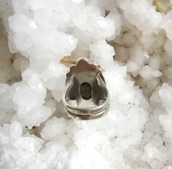 bague lodolite pierre argent