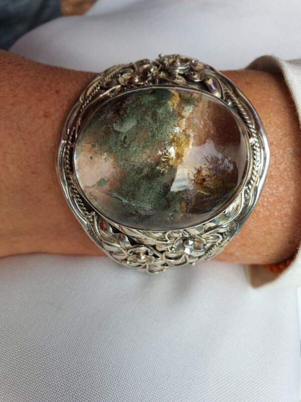 bracelet-argent-pierre-lodolite