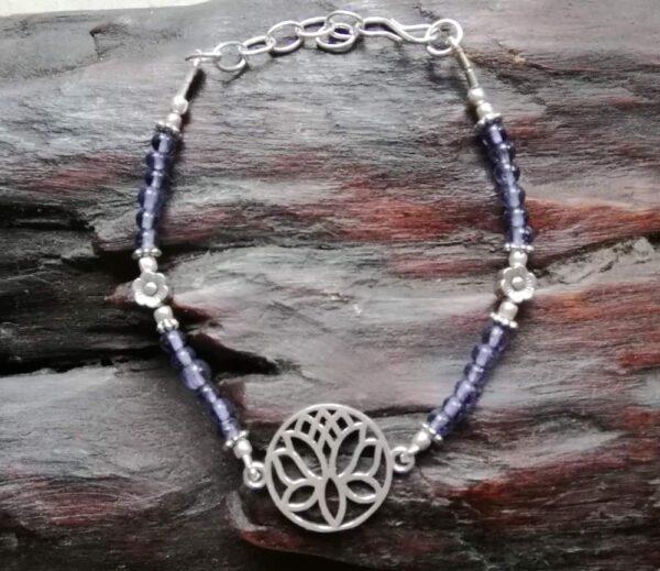 bracelet-lotus-améthyste