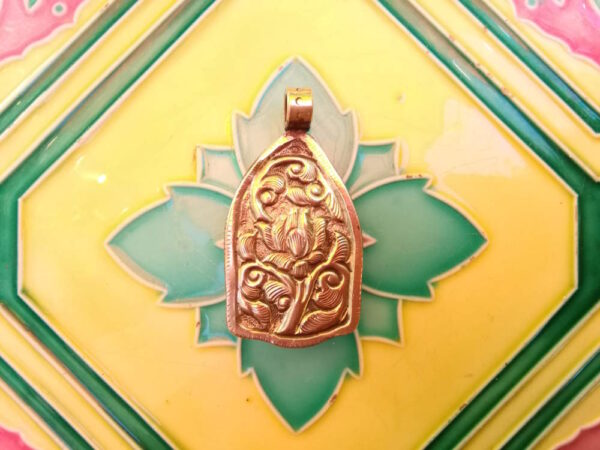 Pendentif corne Buddha Tibet