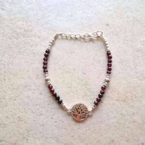bracelet-arbre-de-vie-grenat