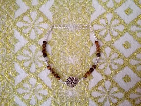 Bracelet arbre de vie oeildetigre