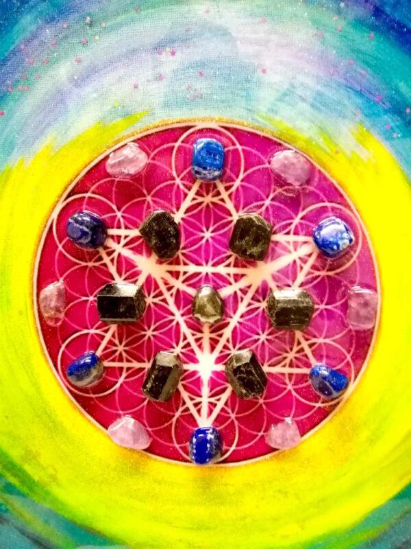 tableau-énergétique-mandala-cristaux