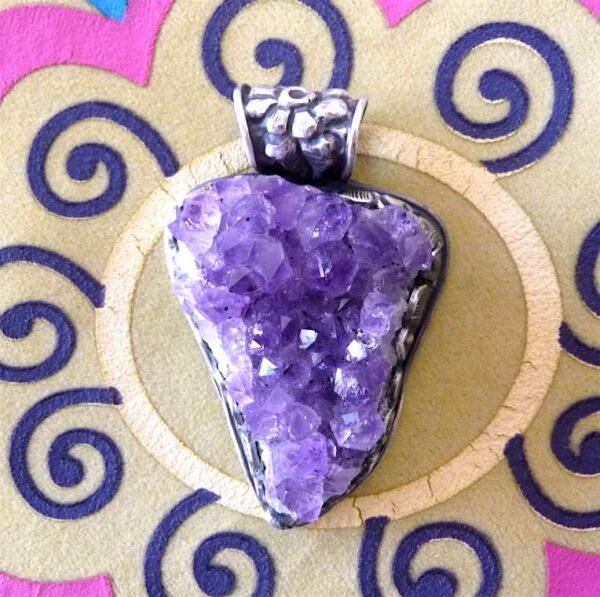 Pendentifs pierres semi précieuses