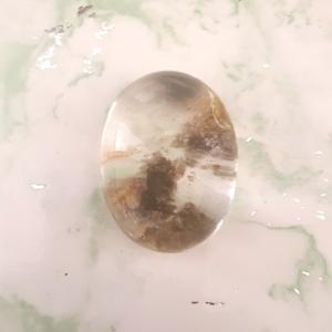 pierre lodolite cristal Birmanie