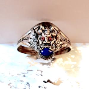 bracelet dragon lapis lazuli