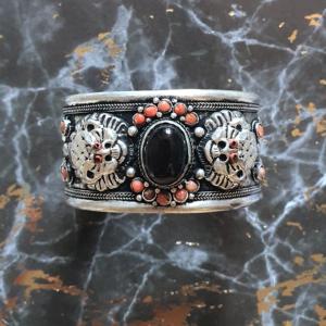 bracelet dragon onyx Tibet