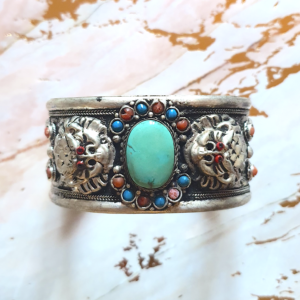 bracelet dragon turquoise tibet