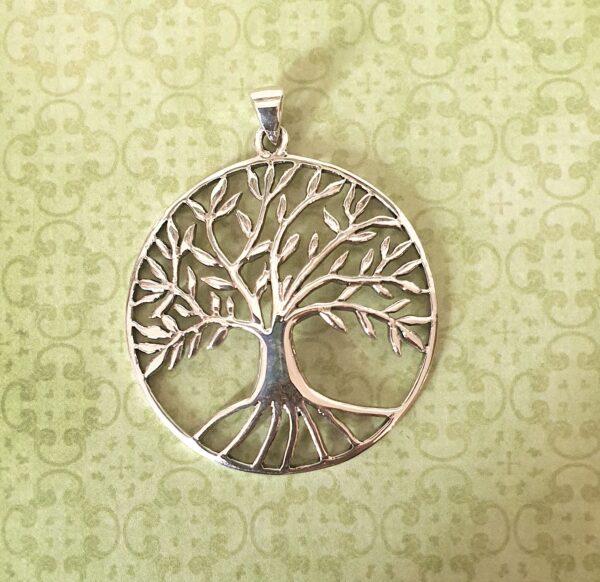 pendentif stylisé arbre de vie